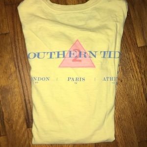 Yellow Southern Tide long sleeve